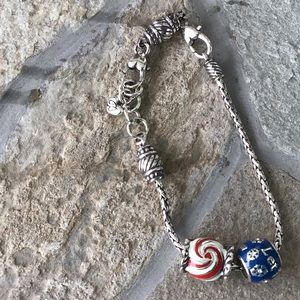 Brighton Charm Bracelet with Holiday Charms